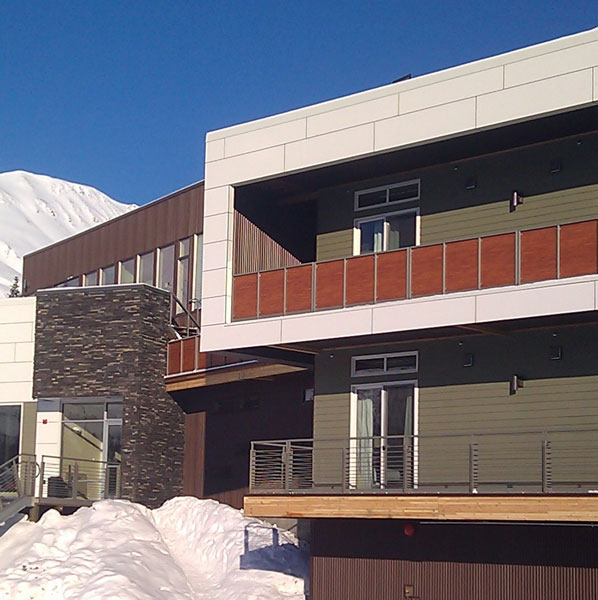 Tsaina Lodge Architects: RIM Architects